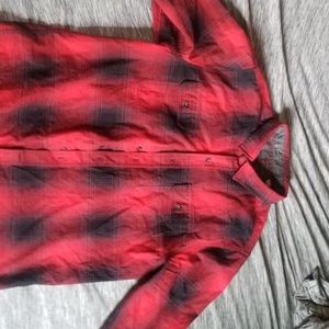 Woolrich Red Plaid Flannel - XL Long Sleeve
